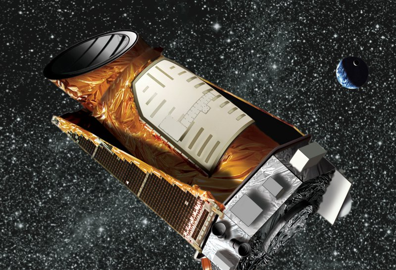 Artist's impression of Kepler space telescope - a mighty part of Hello Eco World
