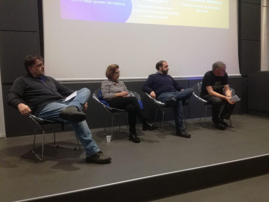 Massimo Sarti, Antonella Blasetti,  Luca Congiu , and Arnaldo Morena.